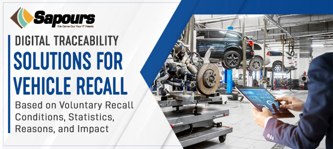 Digital Traceability Solutions for Vehicle Recall – based on voluntary recall conditions, statistics, reasons, and impact