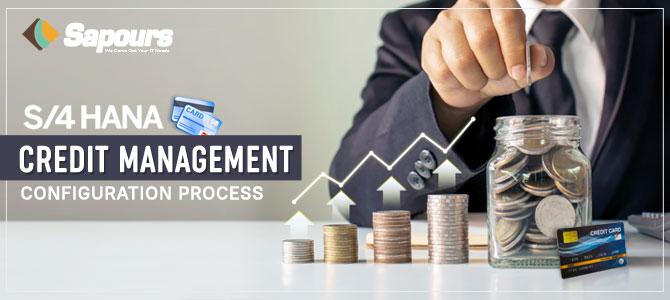 S/4 HANA Credit Management Configuration Process